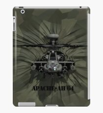 Apache AH-64 Helicopter iPad Case/Skin