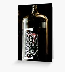Time in a little glass bottle Greeting Card