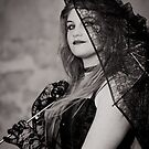 Lipstick and Lace (B&W) by Brian Edworthy