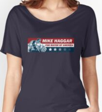 Mike Haggar Women's Relaxed Fit T-Shirt