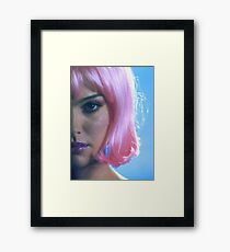 Natalie Portman - Closer Framed Print