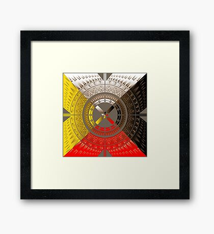 The Four Directions Framed Print