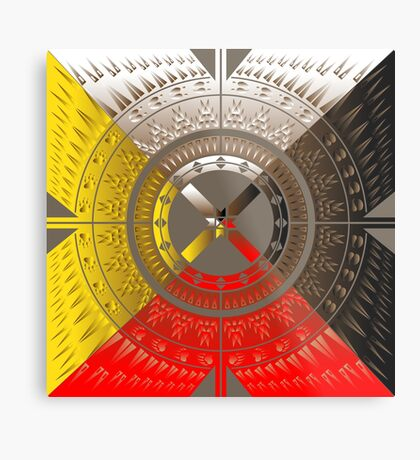 The Four Directions Metal Print
