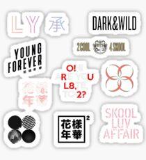 BTS-ALBUM-KUNSTWERKE Sticker