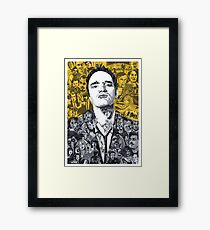 Tarantino's mind Framed Print