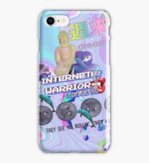 Internet warrior a e s t h e t i c iPhone Case/Skin