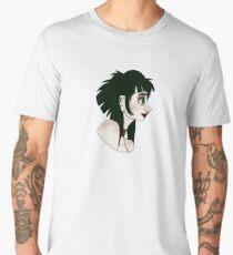 Side Portret Madge Cardson Men's Premium T-Shirt