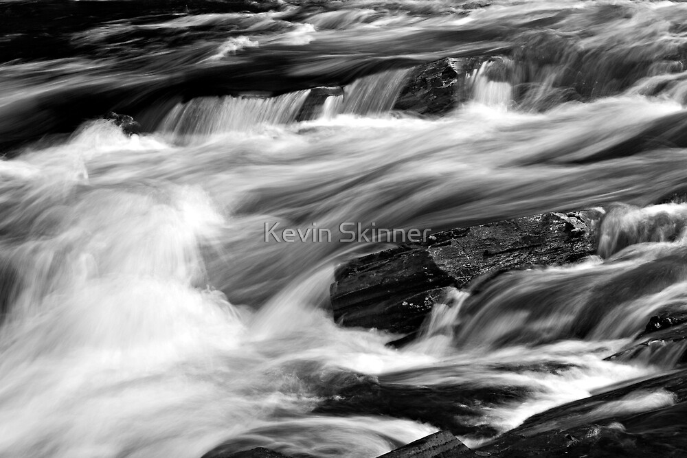 Glen Orchy Waters 1 by Kevin Skinner