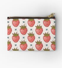 strawberry fields Zipper Pouch