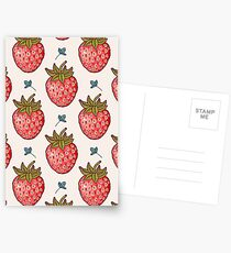 strawberry fields Postcards