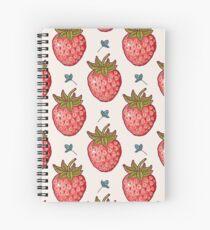 strawberry fields Spiral Notebook