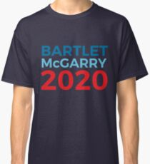 Bartlet McGarry 2020 Election The West Wing Jed Bartlet Leo McGarry Classic T-Shirt
