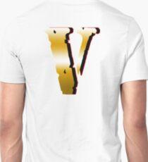 Gold Vlone Logo Asap  T-Shirt