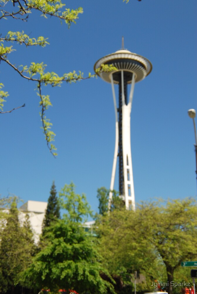 Seattle Space Needle by Jymmi Sparkz