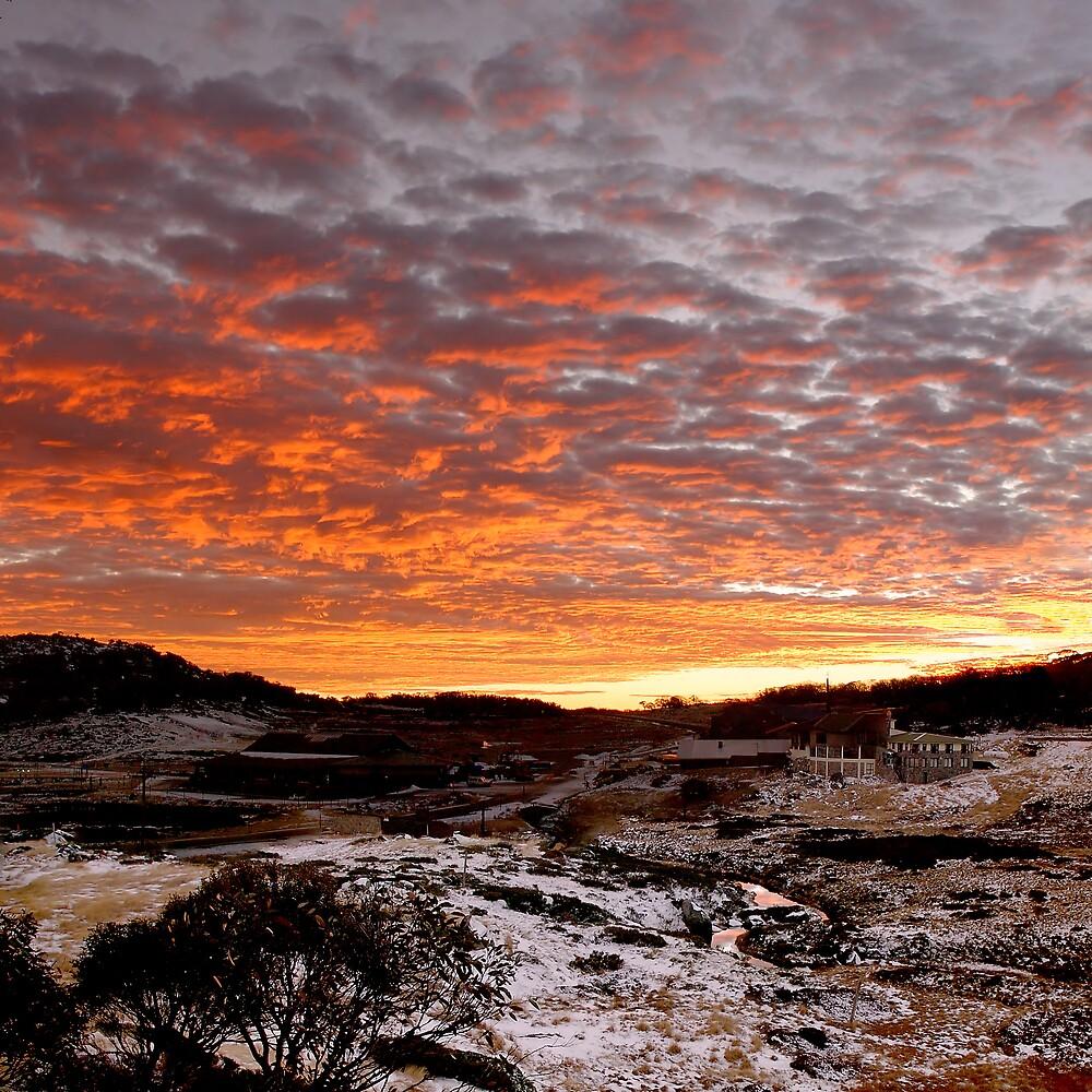 Sunrise Perisher by Benn Hartung