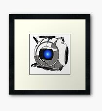 8-Bit Wheatley Framed Print