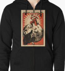 Sowjetisches T-Shirt UDSSR-Weinlese-Tod zum Kapitalismus-Plakat Kapuzenjacke