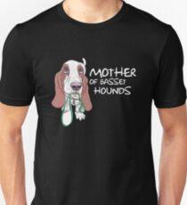 Mother Of Basset Hounds Unisex T-Shirt