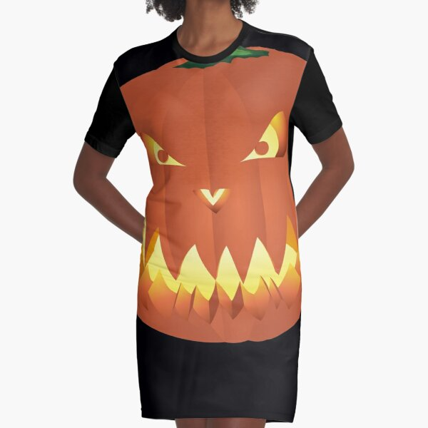 Halloweenkürbis... Graphic T-Shirt Dress
