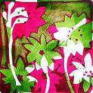 """Watermelon Pink by Belinda """"BillyLee"""" NYE (Printmaker)"""