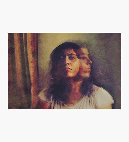"""A pale reflection of myself wavers in my consciousness...and suddenly the """"I"""" pales, pales, and fades out."""" ~Jean-Paul Sartre Photographic Print"""