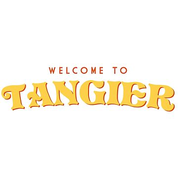 Welcome To Tangier by chunked