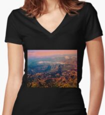 Rocky Tops IV Women's Fitted V-Neck T-Shirt