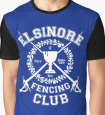 Elsinore Fencing Club - Hamlet Graphic T-Shirt