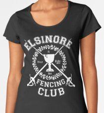 Elsinore Fencing Club - Hamlet Women's Premium T-Shirt