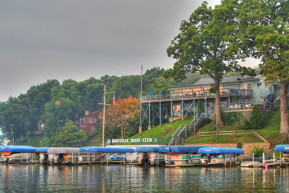 Danville Boat Club by Jeff VanDyke
