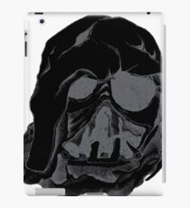 Melted helmet iPad Case/Skin
