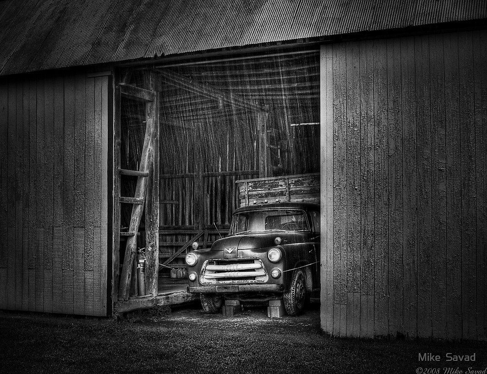 The old truck out back by Michael Savad