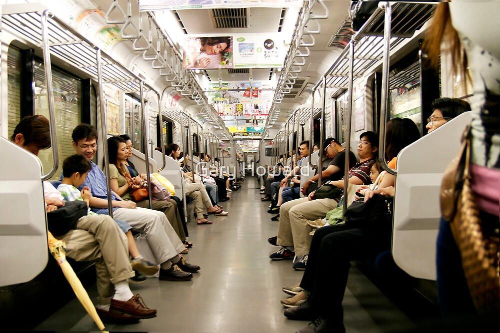 subway tokyo by Gary Howard