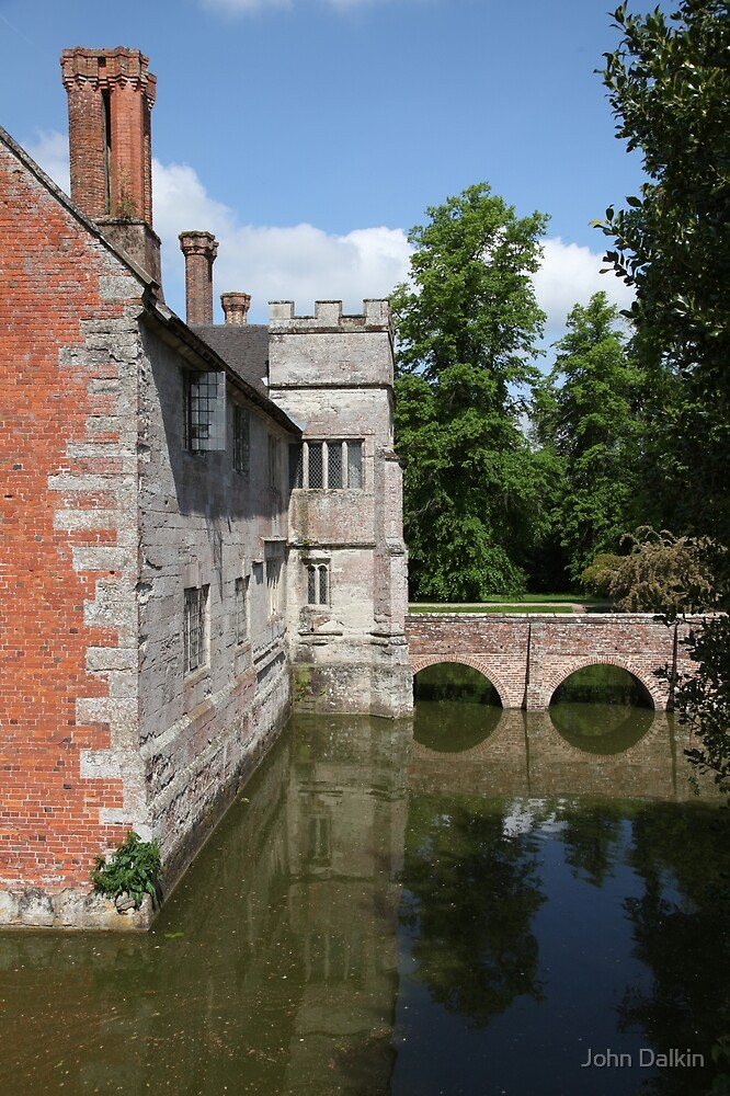 Baddesley Clinton Moat and Reflections by John Dalkin