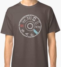 DSLR camera mode dial Classic T-Shirt