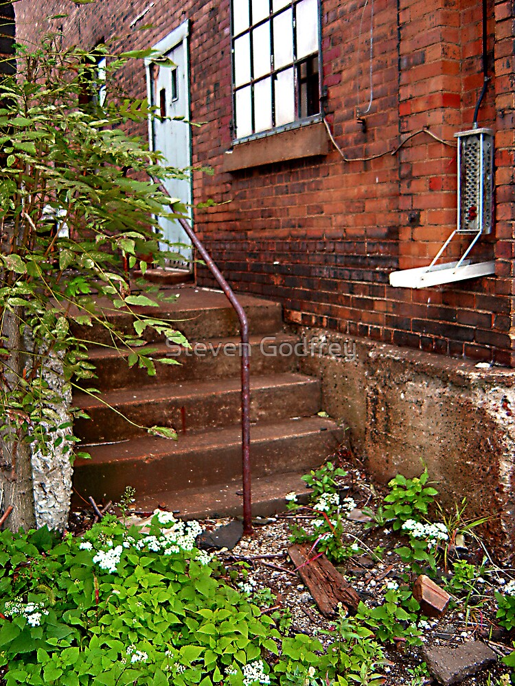 Mill Stairs #1 by Steven Godfrey