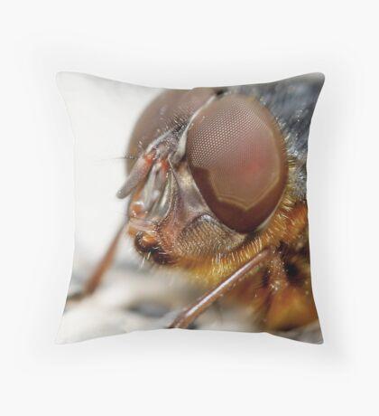 Fly Eye Throw Pillow