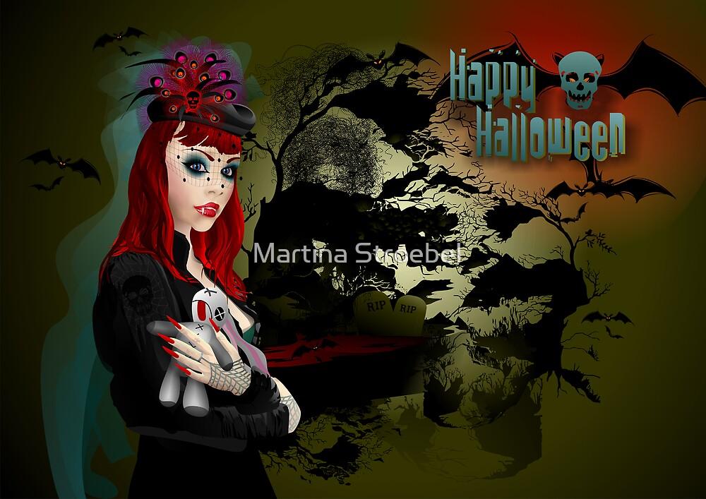 Happy Halloween by Martina Stroebel