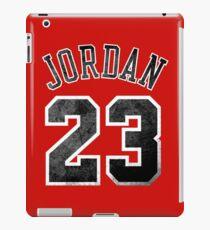 Jordan 23 Jersey Worn iPad Case/Skin