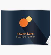 Owen Lars - Star Wars Poster