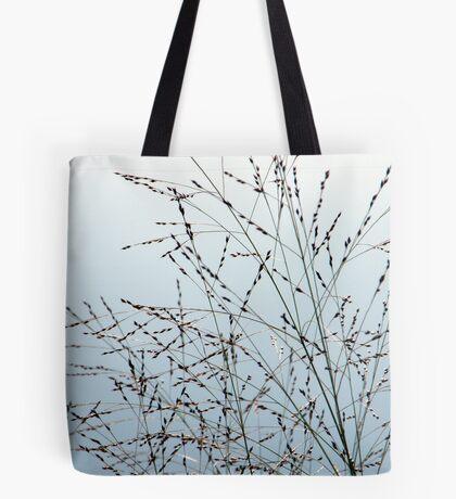 Grasses in the Sky Tote Bag