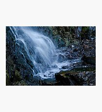 Casper Wy Waterfall 10A Photographic Print