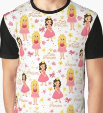 Cute Little Princess Graphic T-Shirt
