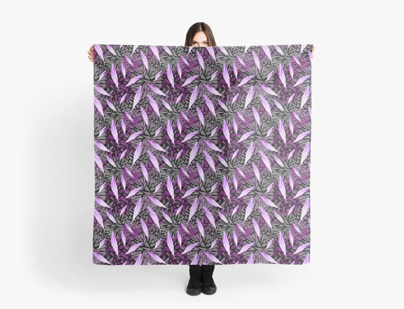 Plum Feather Plumage by christinemay