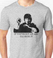 Wenn Sie einen Esel haben, werde ich es treten Slim Fit T-Shirt