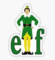 Buddy the Elf Sticker