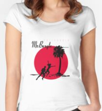 Mr. Faith Women's Fitted Scoop T-Shirt