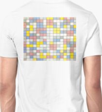 Composition with Grid IX, Piet Mondrian T-Shirt