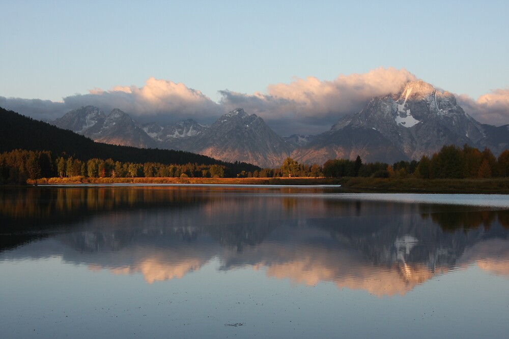 Teton Sunrise by noffi