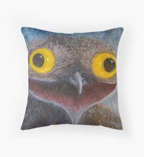 Common Potoo (Nyctibius griseus) Throw Pillow